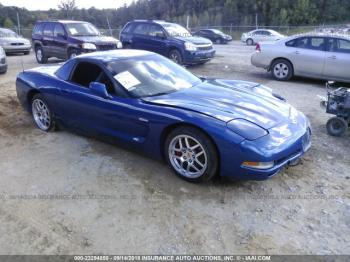 Salvage Chevrolet Corvette